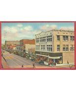 Albuquerque NM Central Avenue 1947 Linen Postcard BJs - $6.50