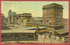 Boston MA Postcard North Station Massachusetts BJs - $7.50