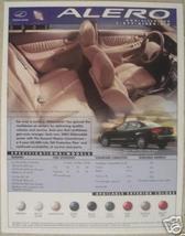 2002 Oldsmobile Alero Brochure - Specifications Sheet - $6.00