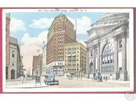 BUFFALO NEW YORK Genesee Building Cars People1933 - $5.00