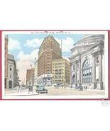 BUFFALO NEW YORK Genesee Building Cars People1933 - $5.00