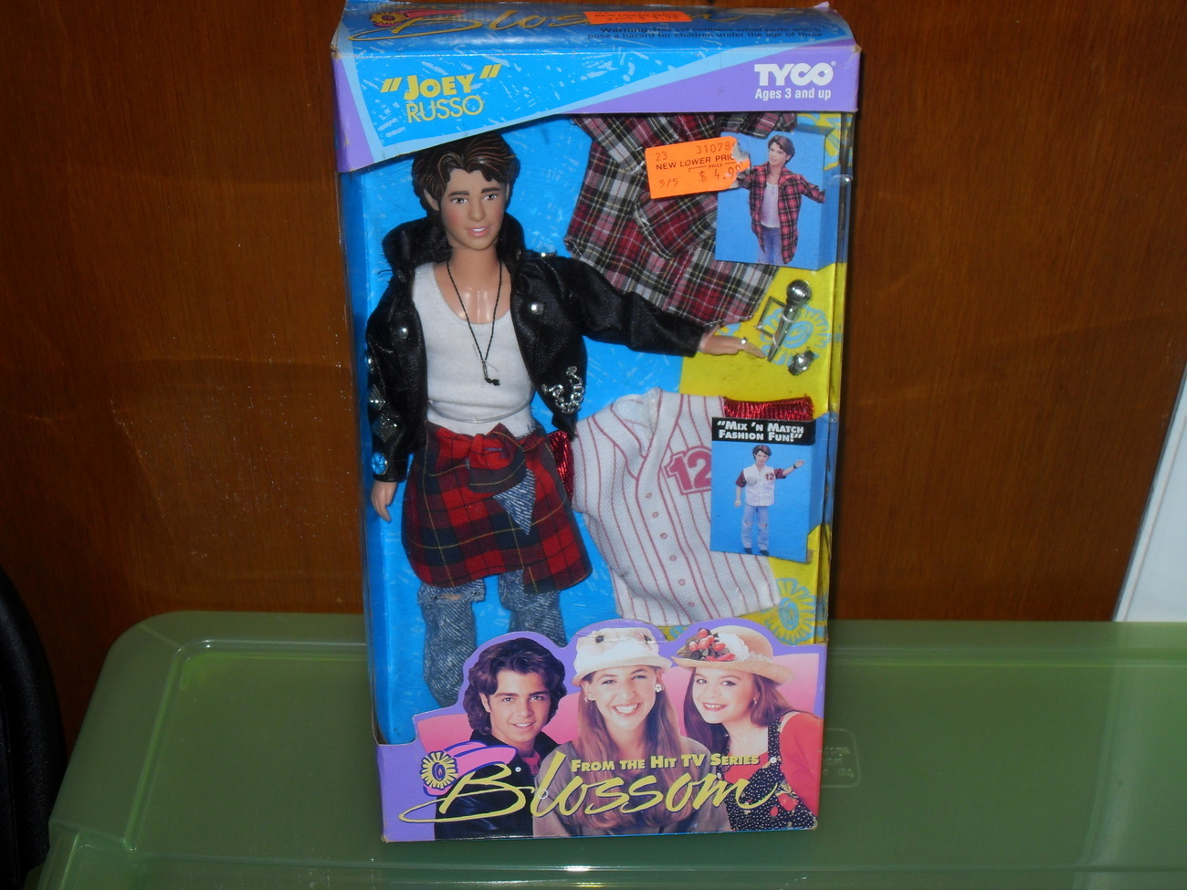 1993 Blossom  Joey Russo Doll in the Box