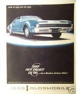 1966 Oldsmobile Full Line Brochure - Cutlass, 4-4-2, Toronado, Delta 88,... - $17.00