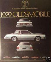 1979 Oldsmobile Cutlass, Omega, Starfire Brochure - $10.00