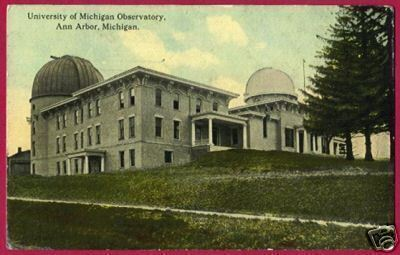 Primary image for ANN ARBOR MICHIGAN U of M Observatory 1912 MI