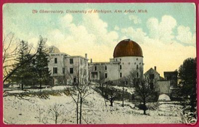 Primary image for ANN ARBOR MICHIGAN U of M Observatory Snow 1913 MI