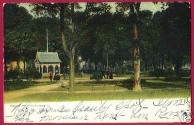 Primary image for BATTLE CREEK MICHIGAN McCamly Park 1908 UDB Rotograph