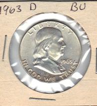 Nice B.U. 1963D Franklin Half - $20.00