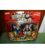 1999 WWE Summer Slam 2 Pack  Debra and Double J in the Packa - $19.99