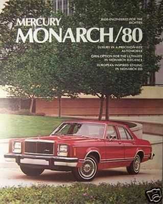 Primary image for 1980 Mercury Monarch Brochure