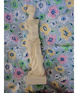 """11.5"""" Nude Venus De Milo Aphrodite Statue Sculptor A. Santini Made in Italy - $31.45"""