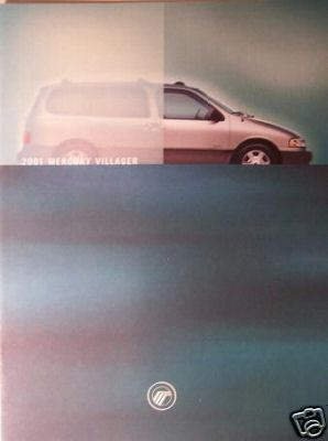 Primary image for 2001 Mercury Villager Brochure