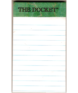"Tops ""The Docket"" Mini Legal Pad 3x5 Pocket Size - $6.00"