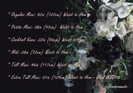 DARK GRAY Maxi Tulle Skirt For Wedding Dark Grey Wedding Bridesmaid Skirt,wd398 image 8