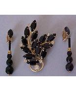 Vintage Lewis Segal Dangle Earrings & Brooch - $19.50