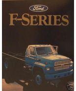 1986 Ford F-Series Medium Duty Trucks Brochure - F600,700,800,900,7000,8... - $13.00