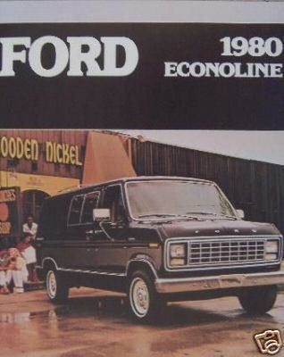 Primary image for 1980 Ford Econoline Brochure