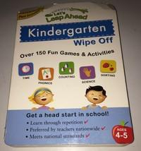 Let's Leap Ahead Kindergarten Wipe-Off Book. No Marker Included. - $8.00