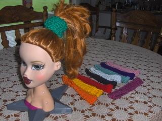 Crochet Headbands Party Favors  50