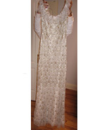 BADGLEY MISCHKA COUTURE Beaded Gown Dress $8500... - $1,963.50