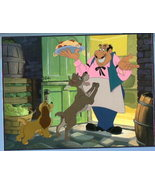 Disney Lady & The Tramp with Tony Lithograph - $28.72