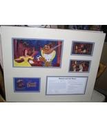 Disney Beauty and the Beast cast membert Lithograph - $235.49