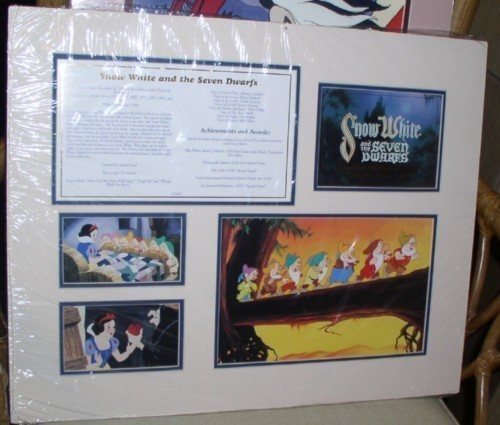 Primary image for Disney Snow White Cast member Lithograph