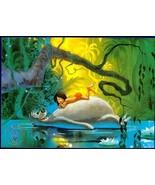 Disney Jungle Book  Commemorative Gold Seal Lithograph - $24.18