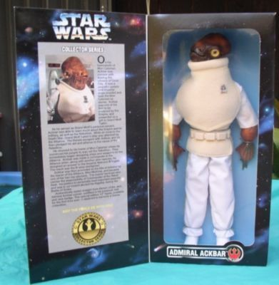 Primary image for Star Wars Admiral Ackbar Rebel Alliance collector Doll