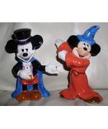Disney Mickey Magician & Sorcerer  Salt & Pepper - $79.99