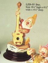 DisneyCapodimonte Laurenz Snow White Doc Musician - $314.50