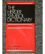 The Herder Symbol Dictionary Art Archaeology Mythology - $2.00