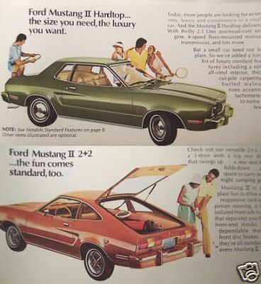 Primary image for 1974 Ford Mustang II Brochure