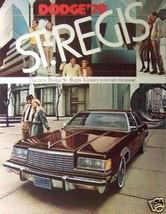 1979 Dodge St. Regis Brochure - $10.00