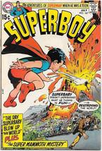 Superboy Comic Book #167 DC Comics 1970 FINE/FINE+ - $10.69