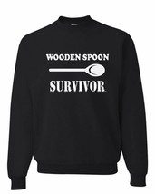 Wooden Spoon Survivor Crew Neck Sweatshirt Sweatshirt - $14.73+