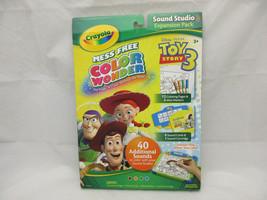 Crayola Color Wonder Mess Free Coloring Kit Toy Story 3 Disney Pixar - $37.36