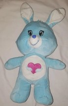 Kellytoy Care Bear Cousin Swift Heart Rabbit Blue Bunny Plush Stuffed An... - $1.99
