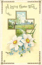 A Loving Easter Wish For You My Student Vintage Post Card  - $3.00