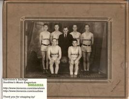 Yunker's BasketBall Team 1930's Photo Mansfield Ohio - $65.00
