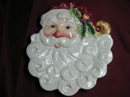 Christmas China Fitz & Floyd Santa Claus Canape - $9.95