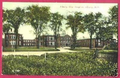 ALBANY NEW YORK NY City Hospital 1911