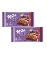 2 boxes of MILKA Sensations cocoa Cookies with milk chocolate crumbs and... - $10.39