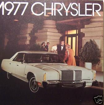 Primary image for 1977 Chrysler Full Line Brochure - New Yorker, Town & Country Wagon, Newport