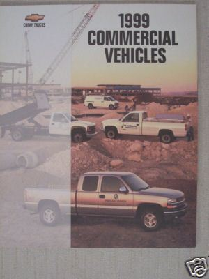 Primary image for 1999 Chevrolet Commercial Trucks Brochure