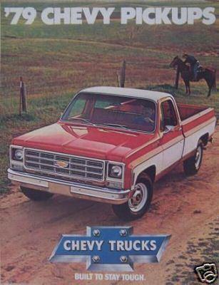1979 Chevrolet Pickups Brochure