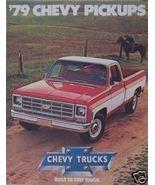 1979 Chevrolet Pickups Brochure - $11.00