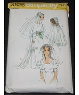 Simplicity sewing pattern 9826 Bridal  Headpiec... - $4.50