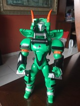 "2007 Bandai Power Rangers Jungle Fury 2 Armored Green Ranger 7"" - $13.40"