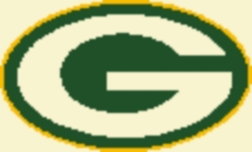 Latch Hook Rug Pattern Chart: GREEN BAY PACKERS -EMAIL2u
